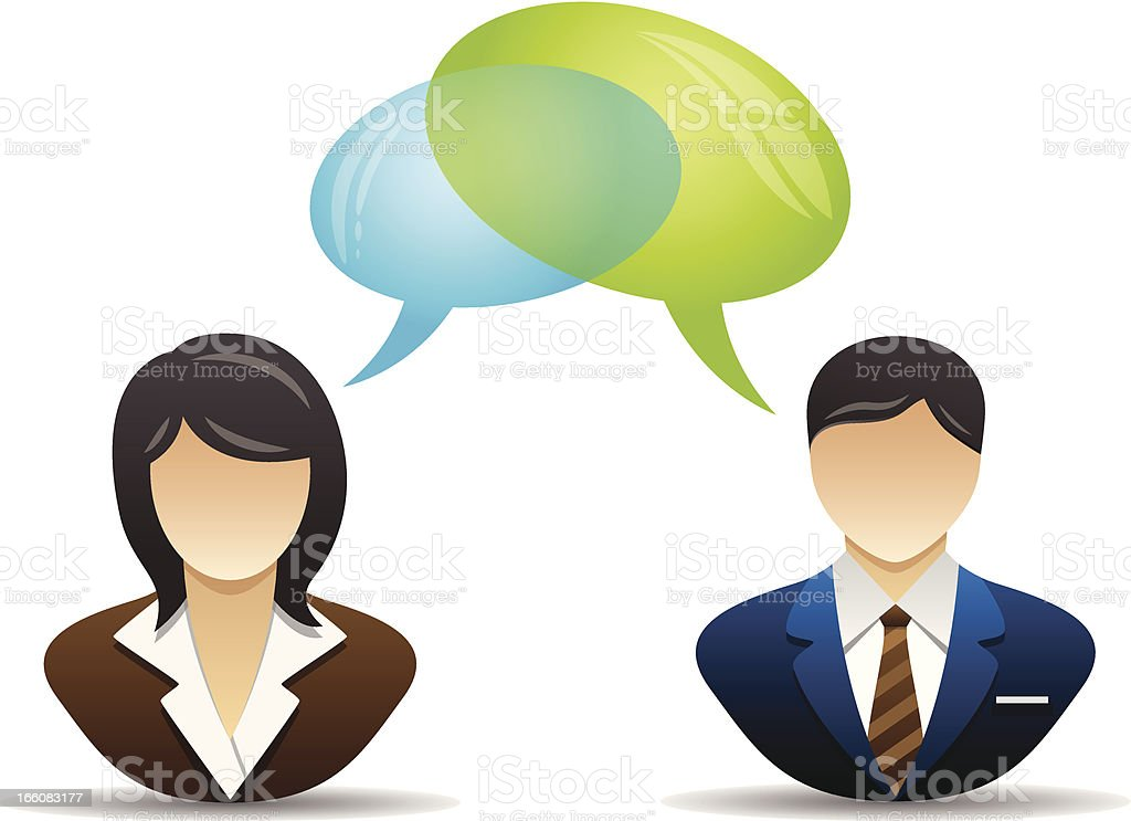 Speech bubble - Conversation royalty-free stock vector art