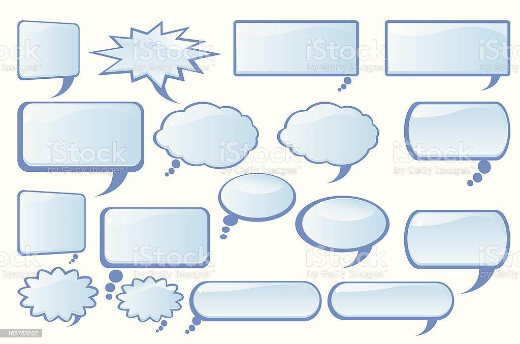 Speech Bubble royalty-free stock vector art