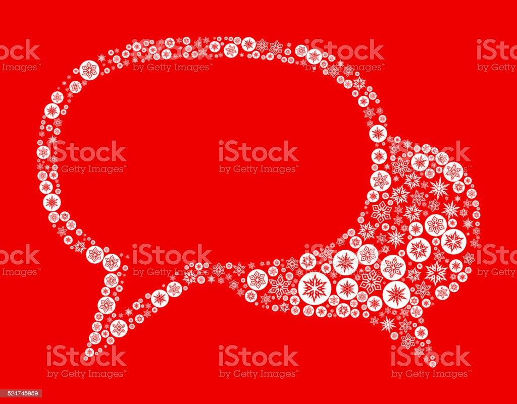 スピーチの泡の背景に赤 のイラスト素材 524745959 | istock