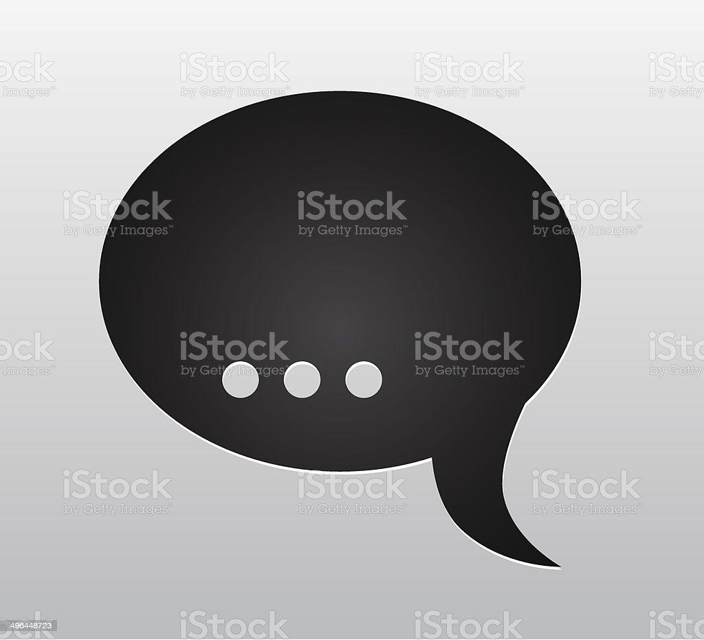 Discours de bulles stock vecteur libres de droits libre de droits