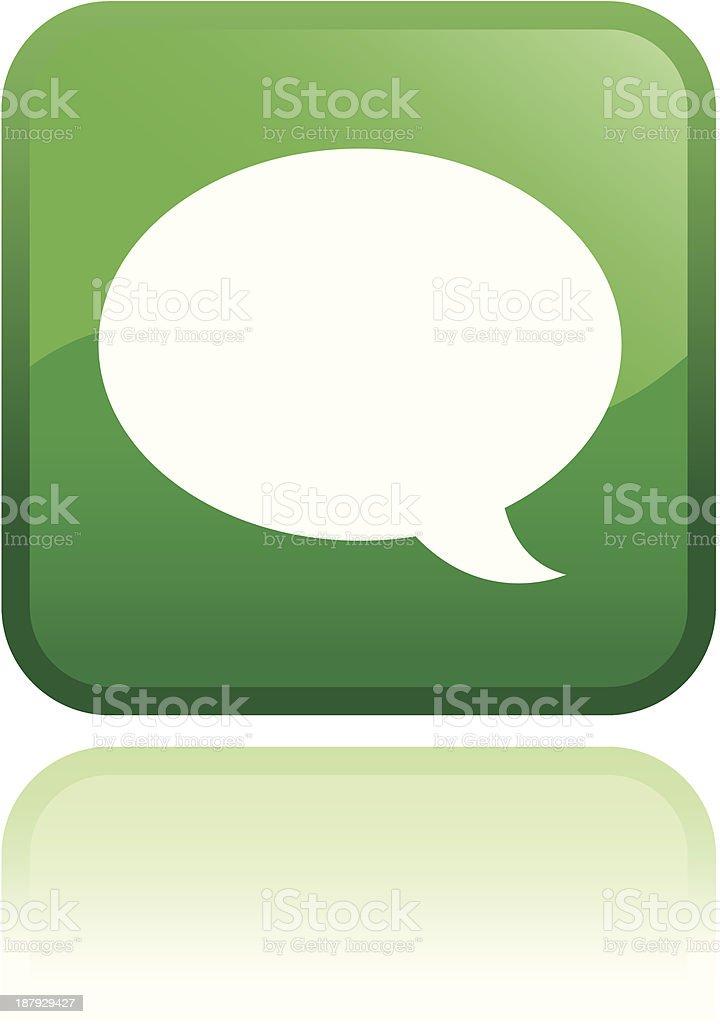 speech icon Vector royalty-free stock vector art