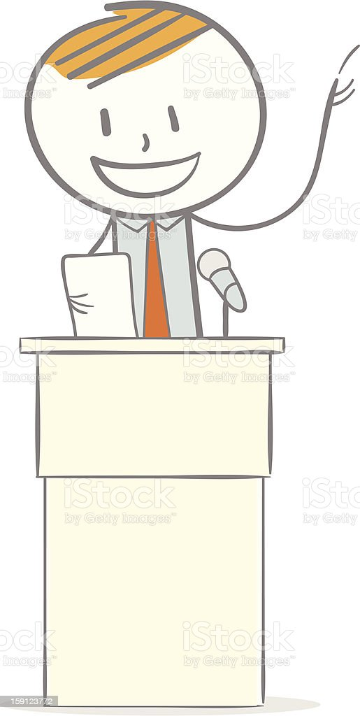 Speech royalty-free stock vector art