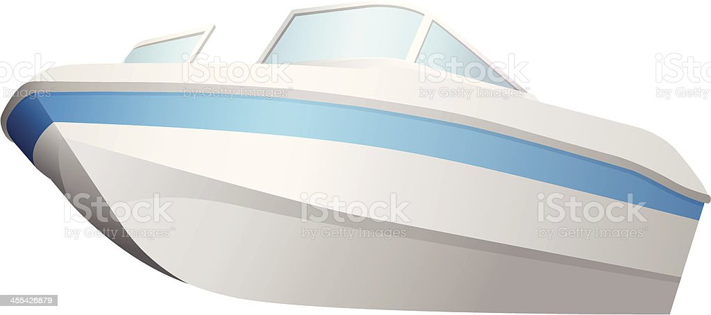 speed boat royalty-free stock vector art