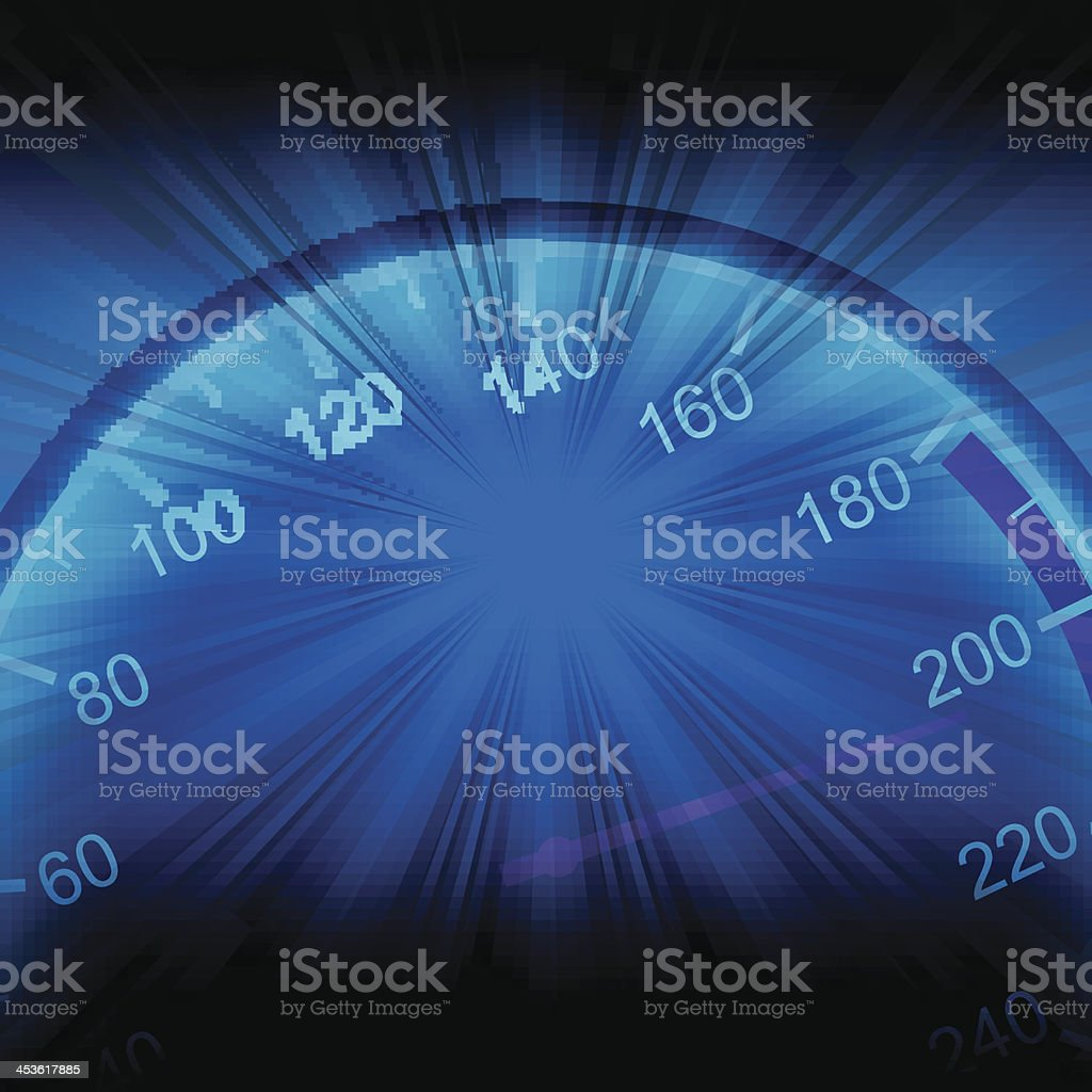 speed concept royalty-free stock vector art