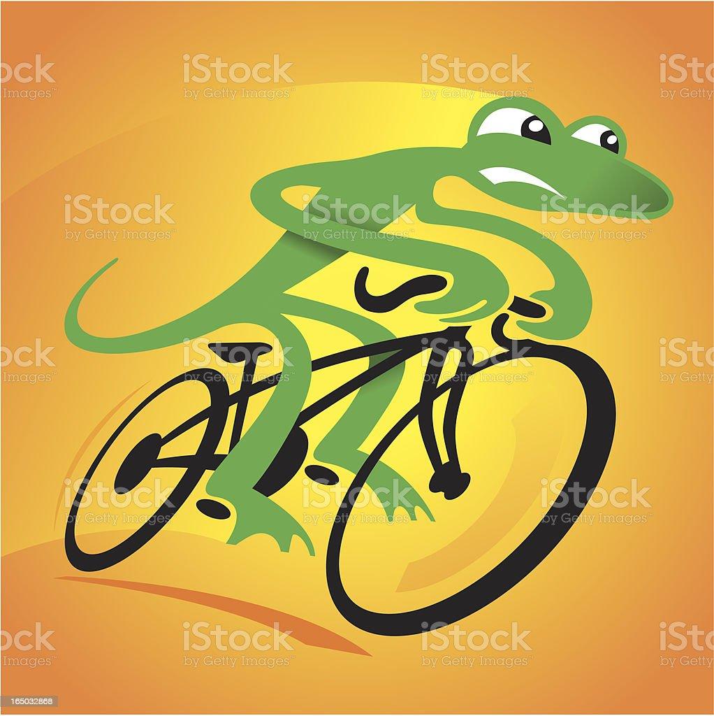 Speed Lizard royalty-free stock vector art