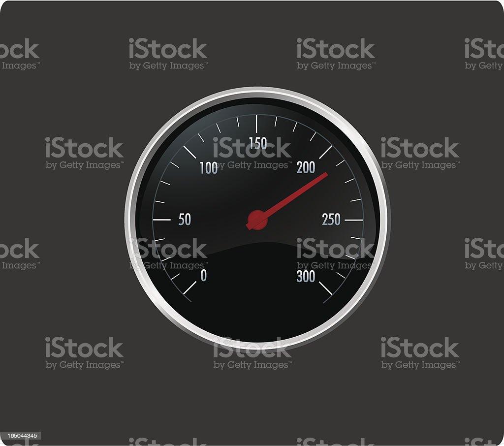 Speed Meter royalty-free stock vector art