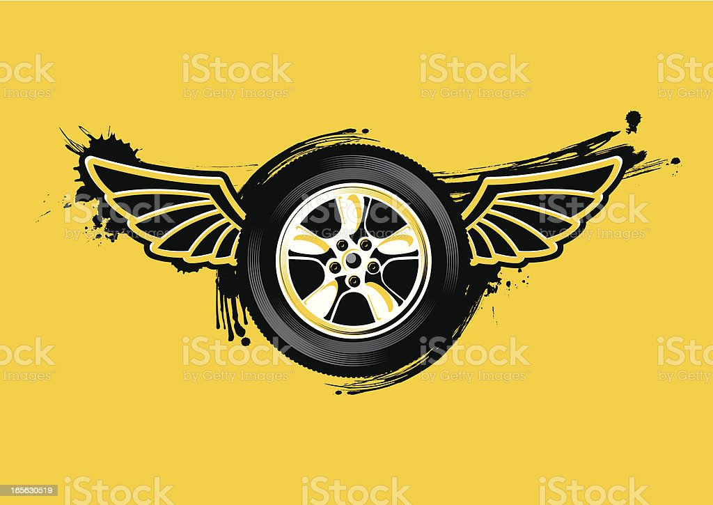 speed racer royalty-free stock vector art