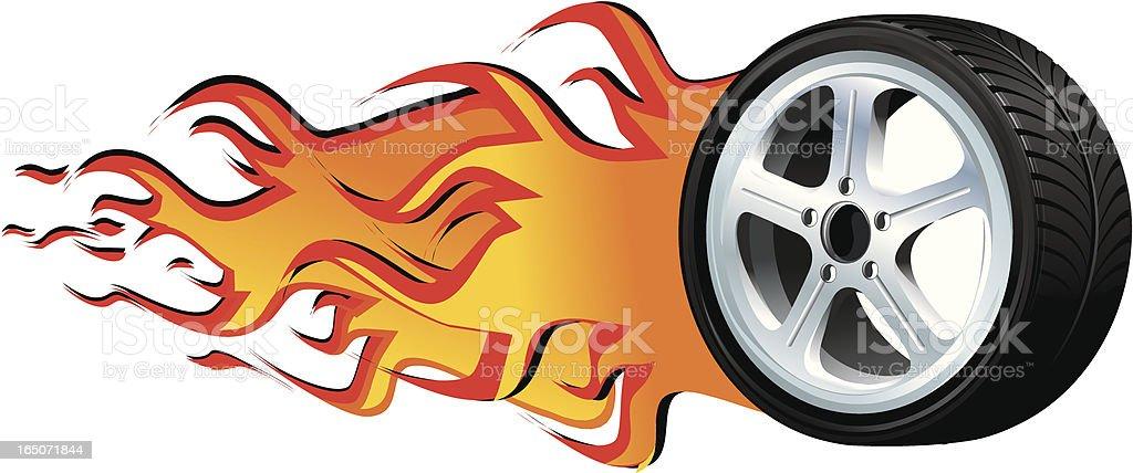 Speed rim royalty-free stock vector art