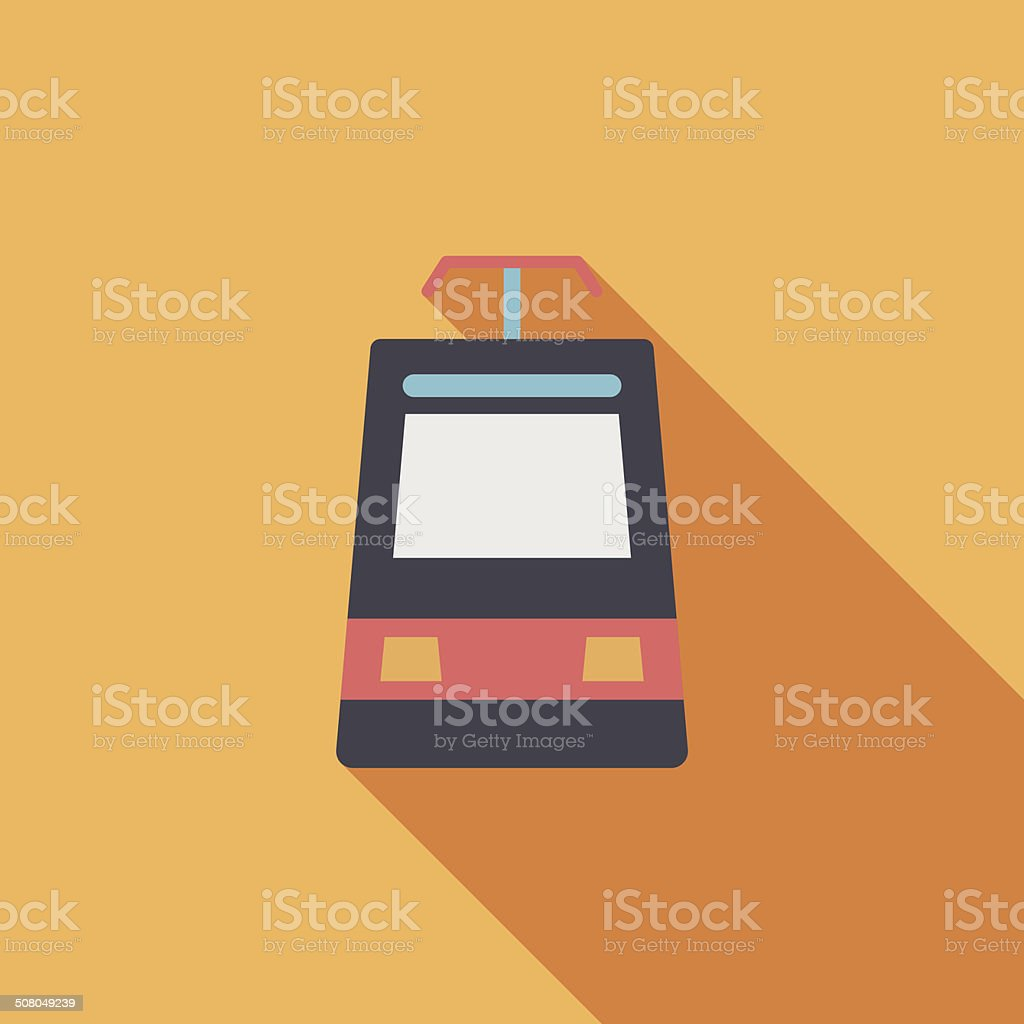 speed train flat icon with long shadow royalty-free stock vector art