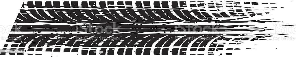 speed tread vector art illustration