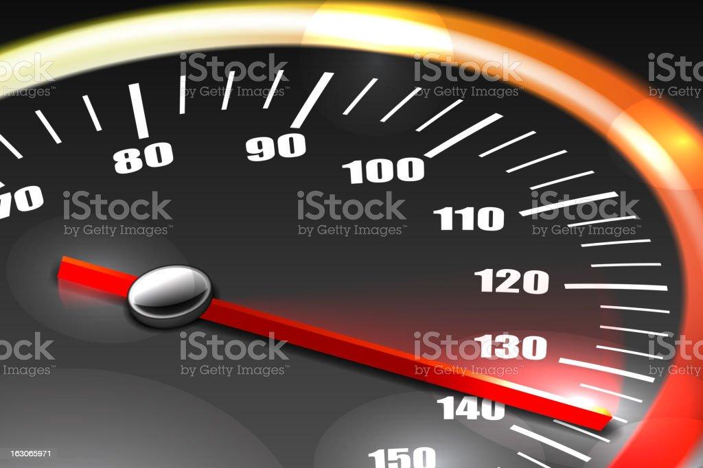 Speedometer Background royalty-free stock vector art