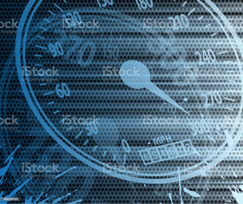 speedometer backround royalty-free stock vector art