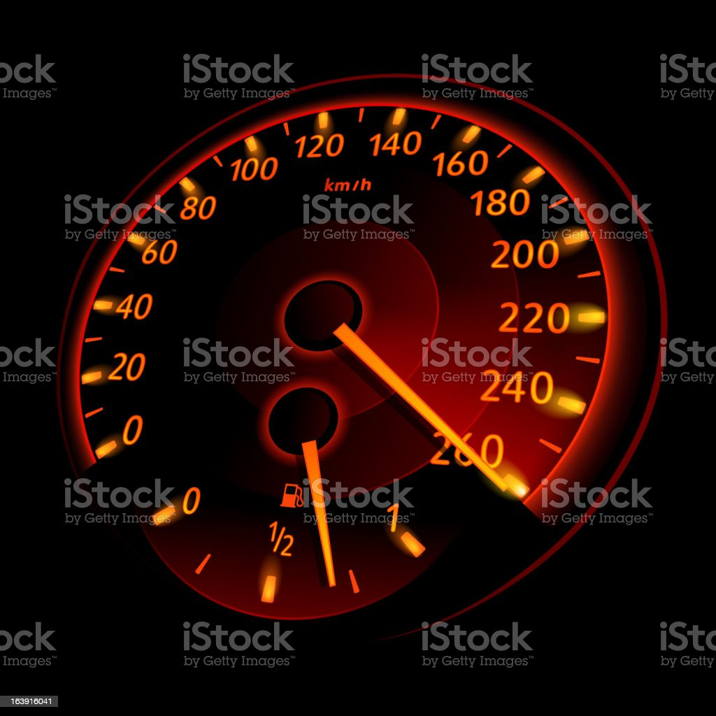 Speedometer. Vector illustration royalty-free stock vector art