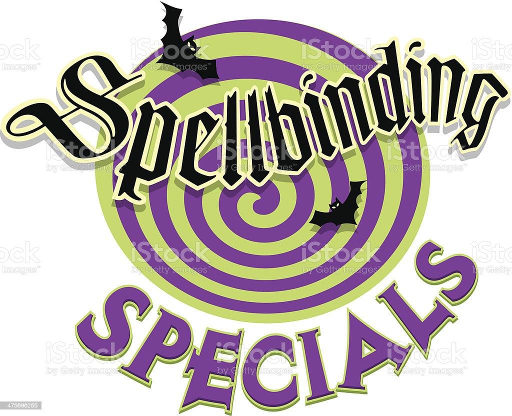 Spellbinding Heading C royalty-free stock vector art