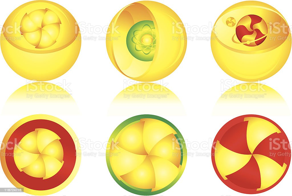 sphere royalty-free stock vector art