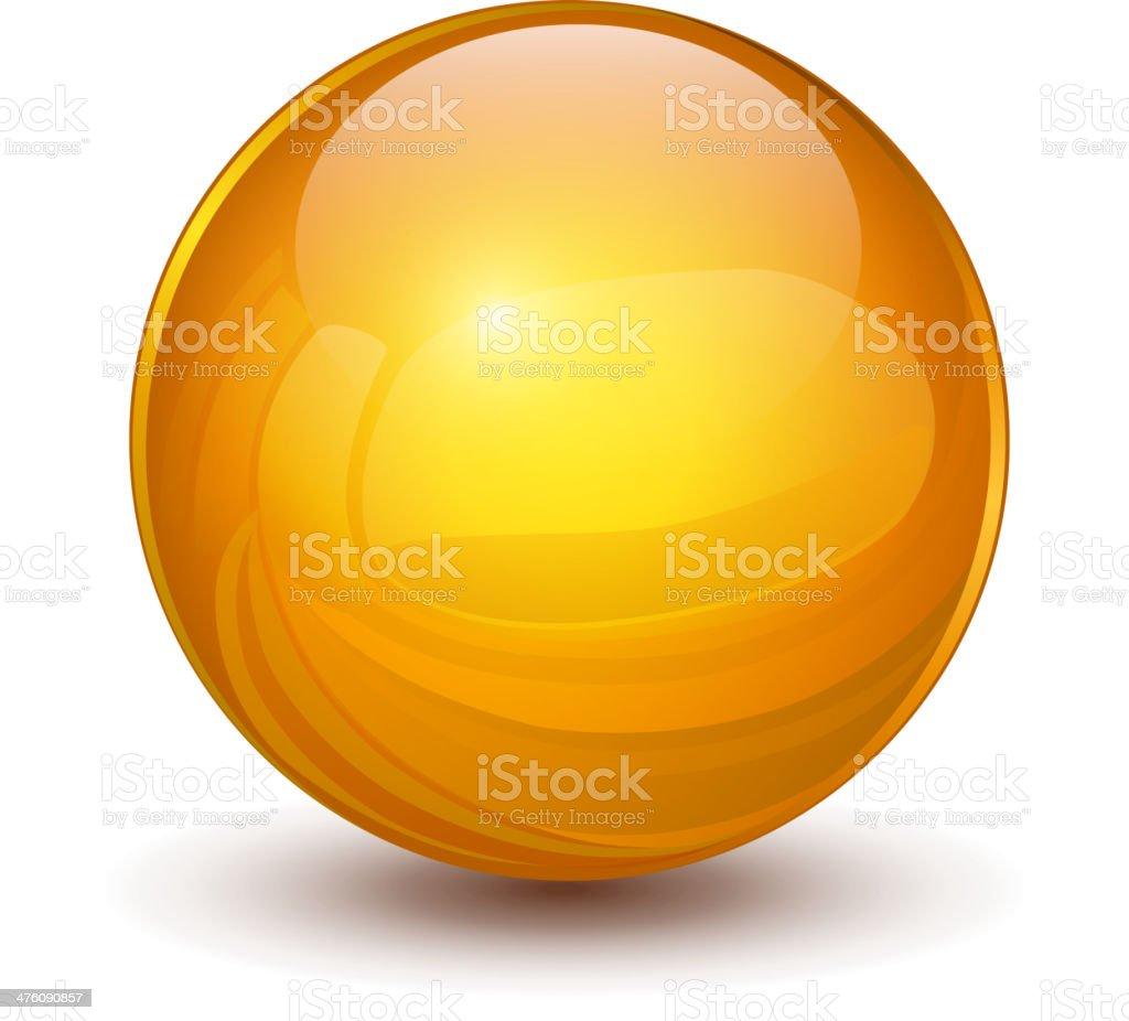 3D sphere vector art illustration