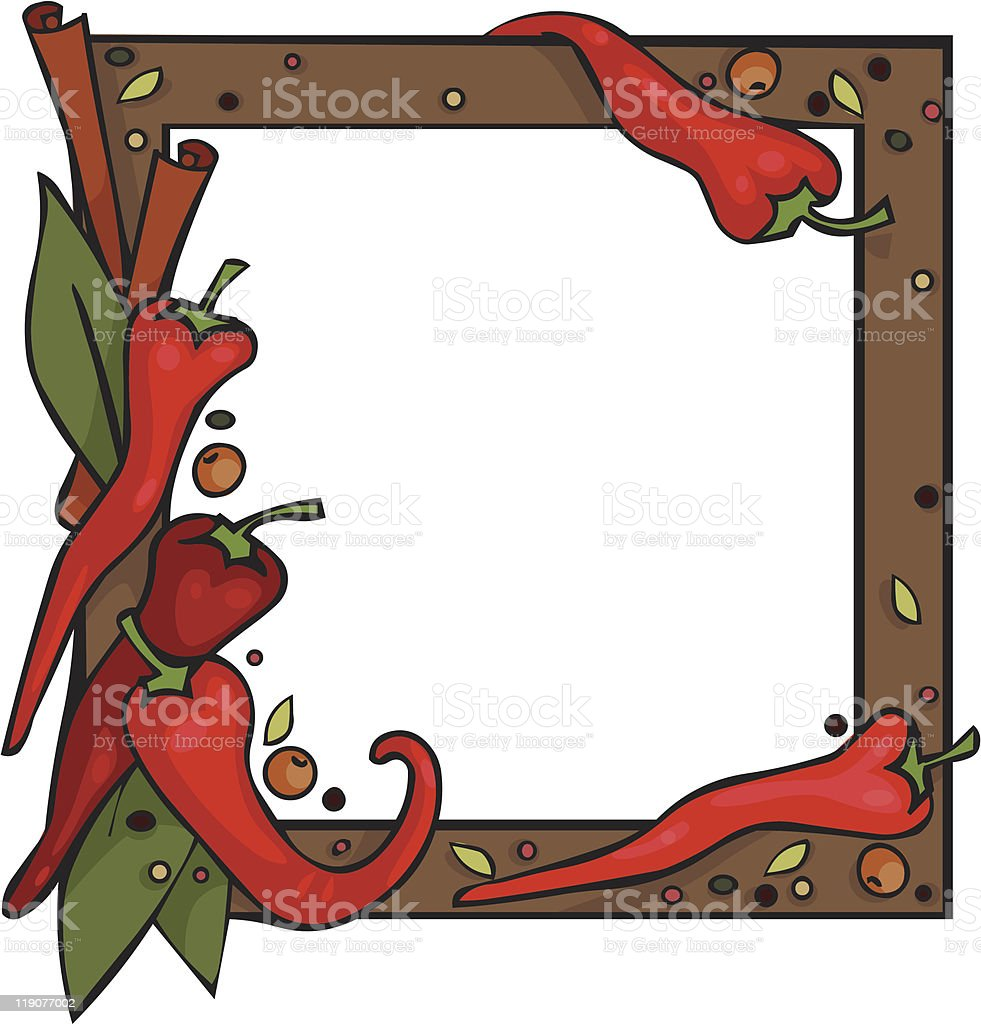 Spices royalty-free stock vector art