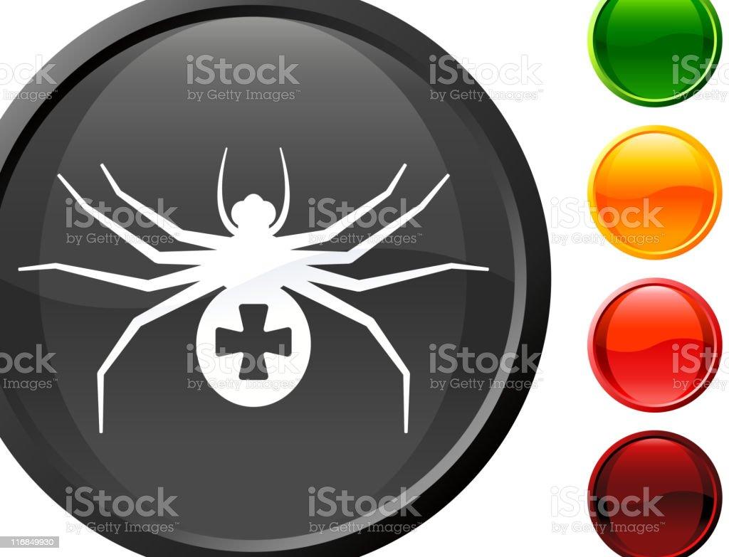 spider internet royalty free vector art vector art illustration