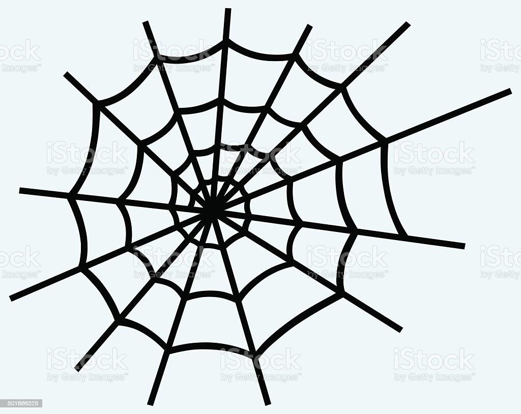 Spider net royalty-free stock vector art