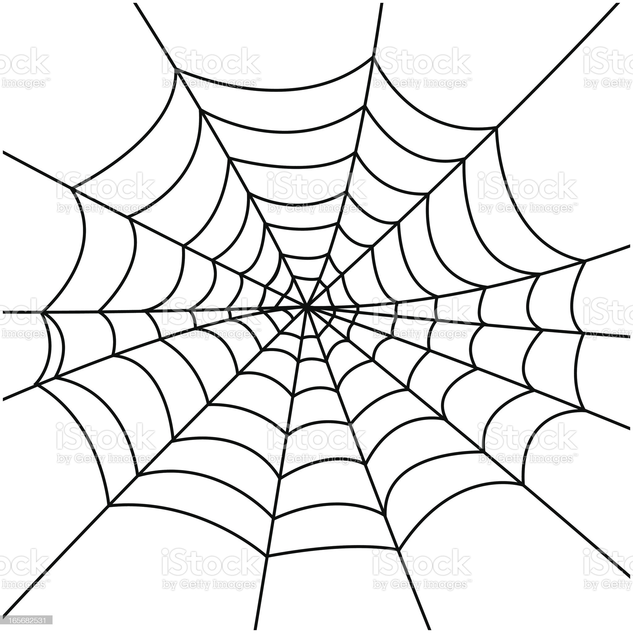 Spider Web royalty-free stock vector art