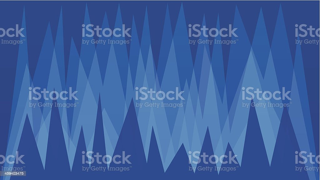 Spiked Abstract Background royalty-free stock vector art