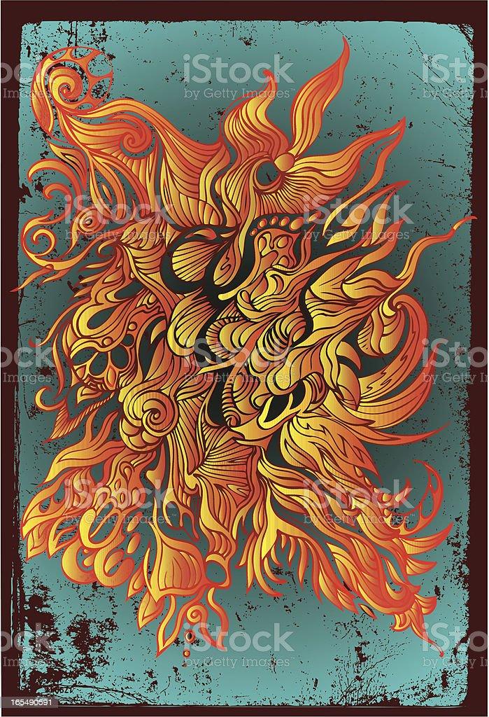 des Geistes Feuer Lizenzfreies vektor illustration
