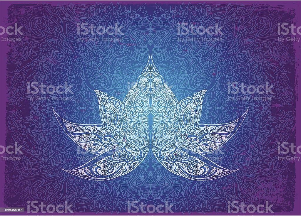 spiritual shine royalty-free stock vector art