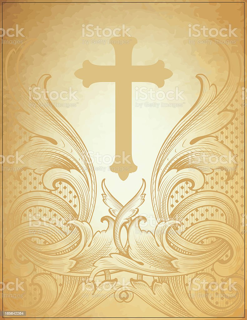 Spiritual Stationery royalty-free stock vector art