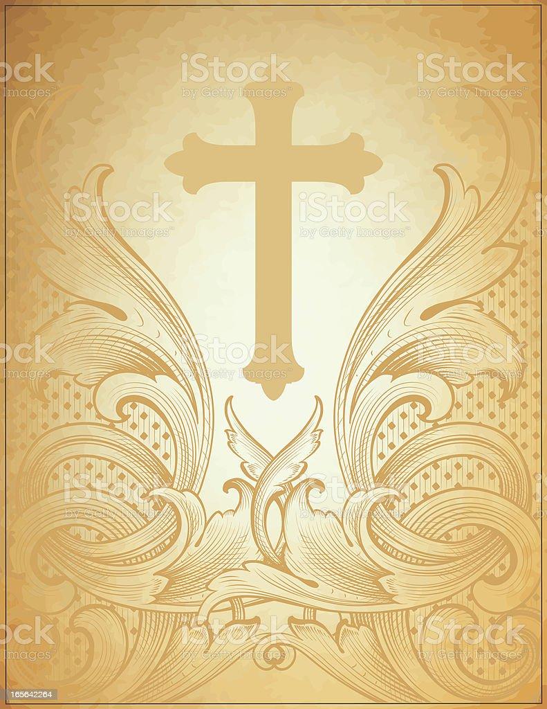 Spiritual Stationery vector art illustration