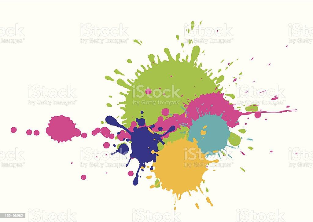 splash royalty-free stock vector art