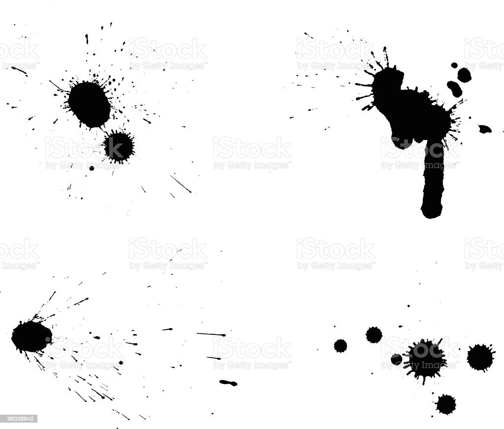 Splatter Selections ~ Vector royalty-free stock vector art
