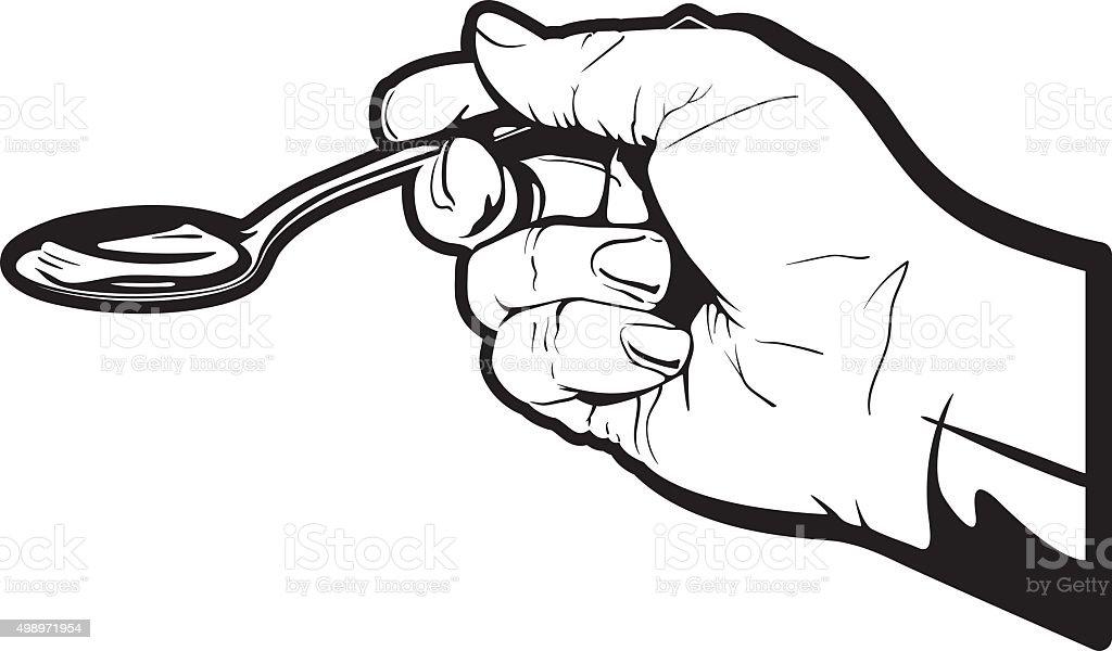 Spoon Full vector art illustration