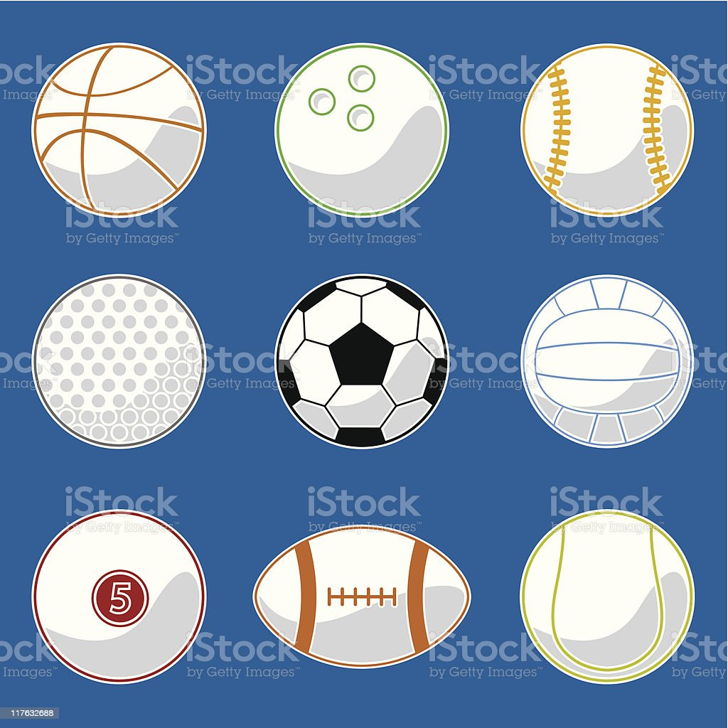 Sport Ball (vector) royalty-free stock vector art