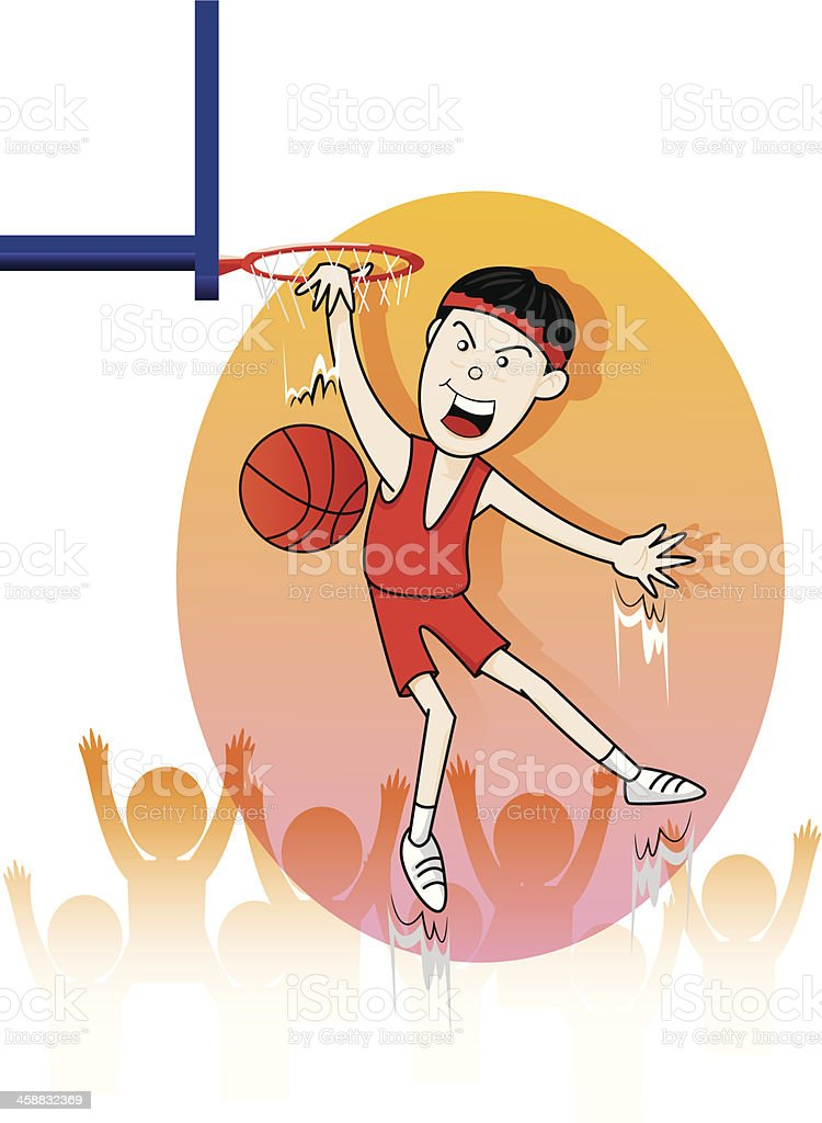 sport basketball of vector royalty-free stock vector art