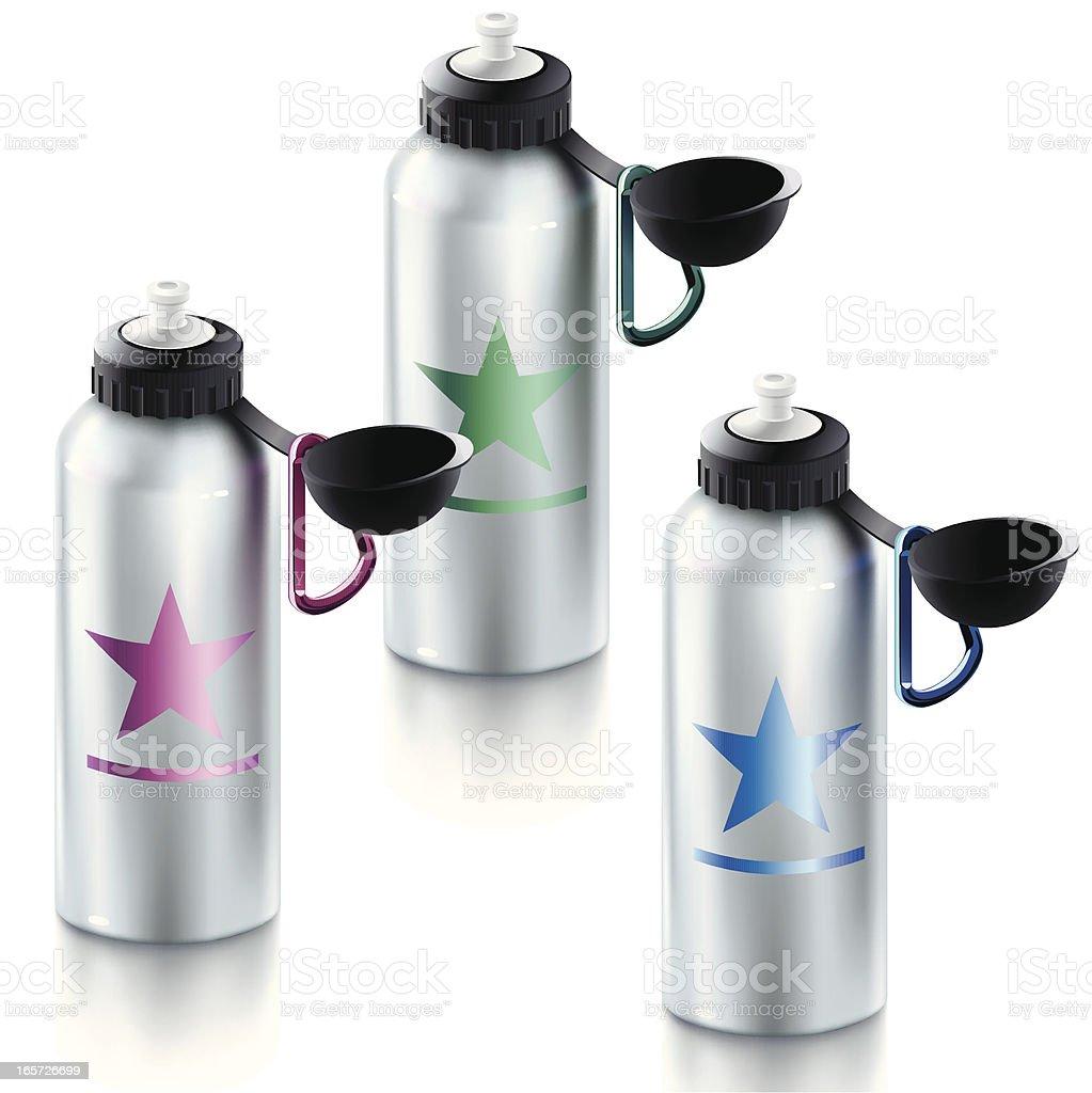 Sport Bottles royalty-free stock vector art