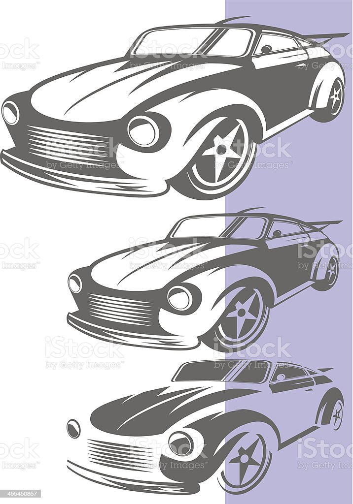 Sport car royalty-free stock vector art