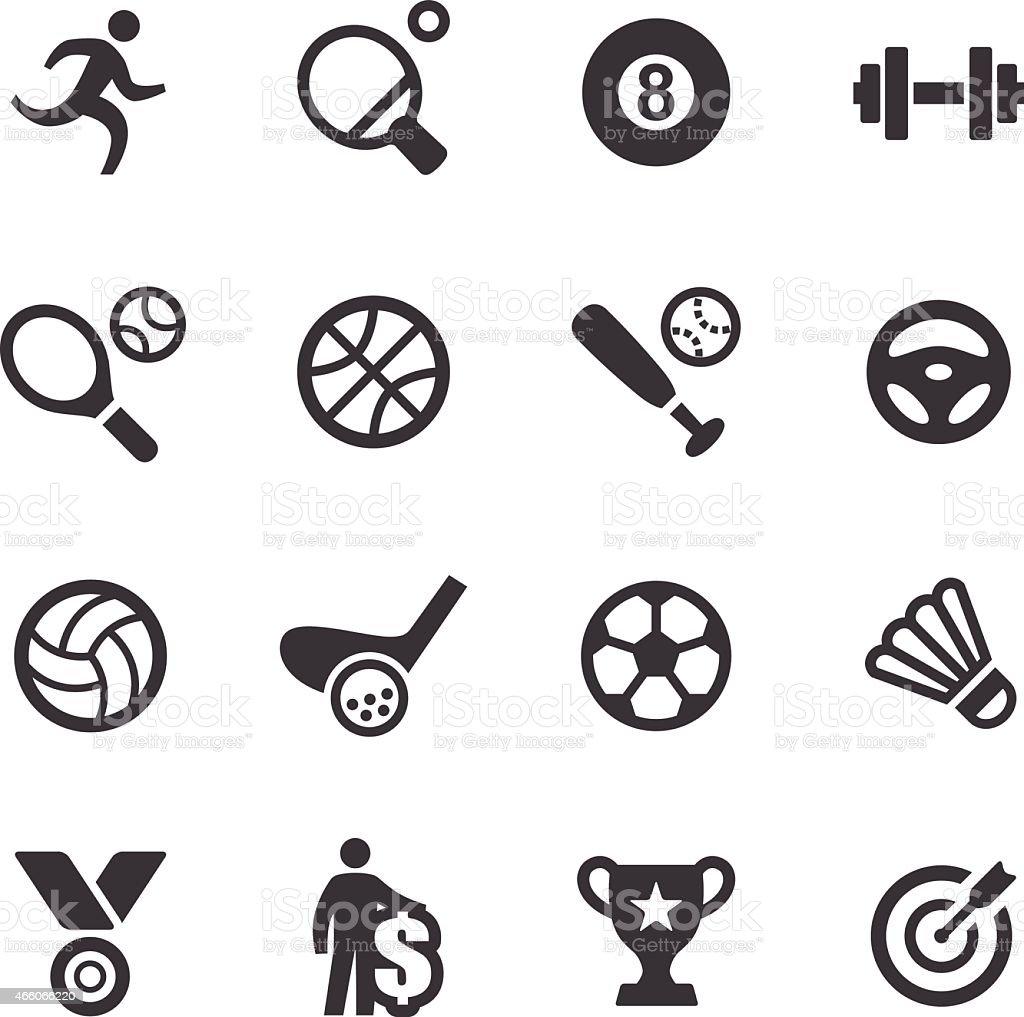 Sport Icons - Acme Series vector art illustration
