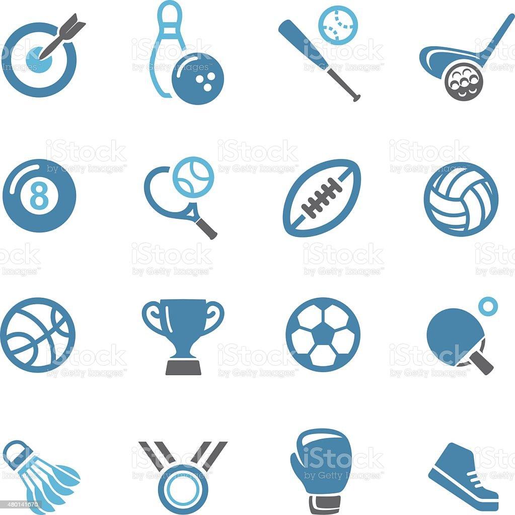 Sport icons - Conc Series vector art illustration