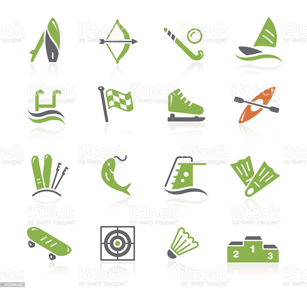 Sport Icons | Spring Series vector art illustration