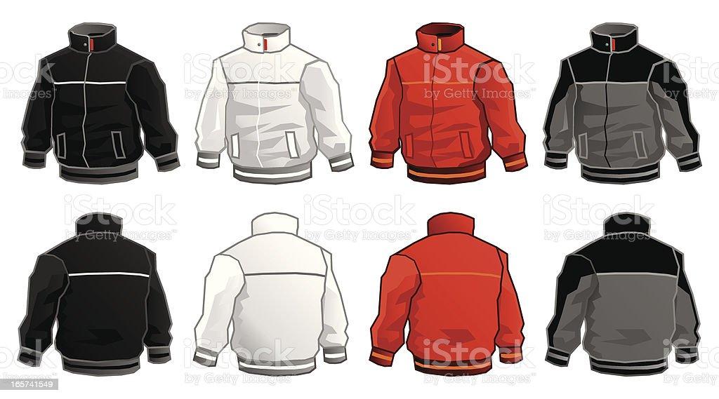 Sport Jacket royalty-free stock vector art