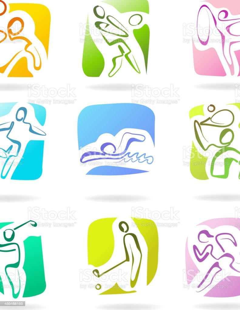 Sport Logo royalty-free stock vector art