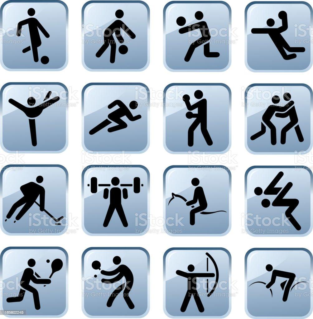 sport symbols royalty-free stock vector art