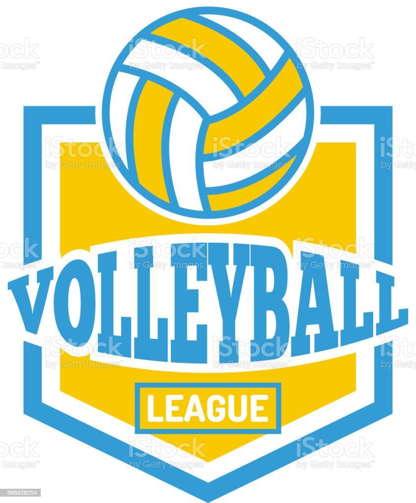Sport team badge vector logo vector art illustration
