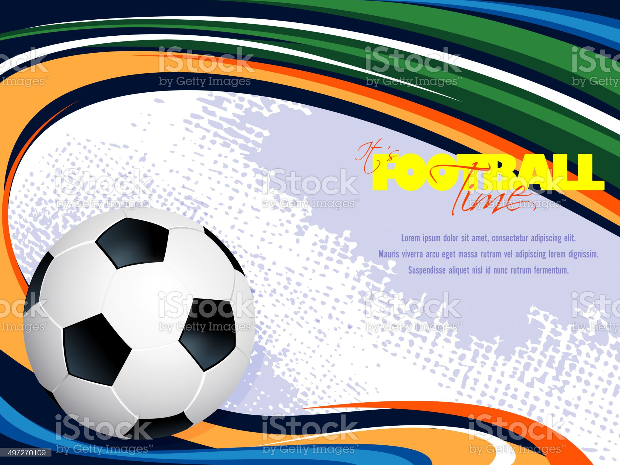 Sports Background with Copy space royalty-free stock vector art