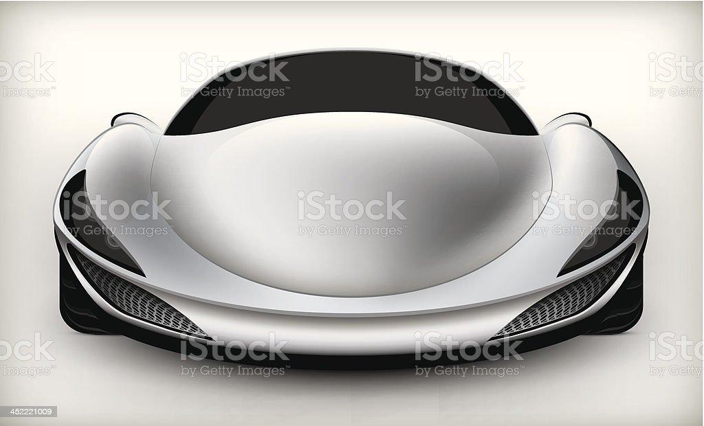 sports car royalty-free stock vector art