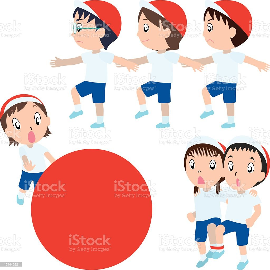 sports day royalty-free stock vector art