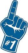 Sports Foam Hand