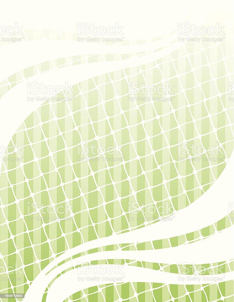 Sports Net Background vector art illustration