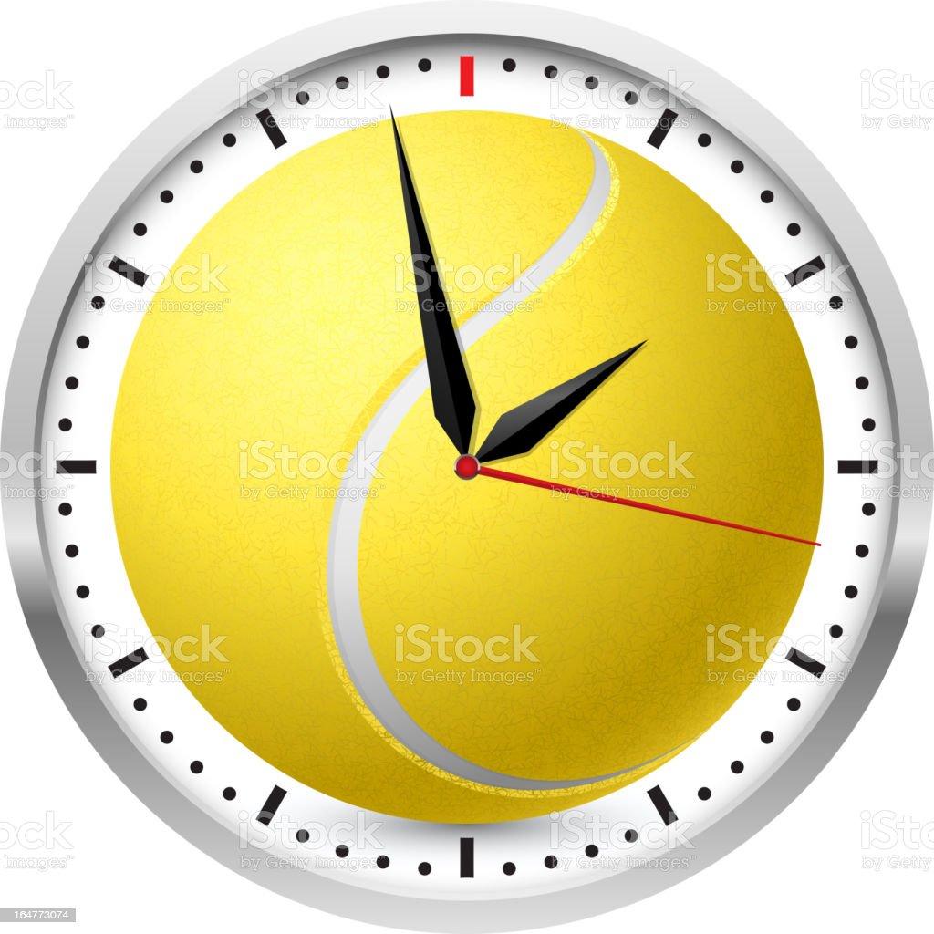 Sports Wall Clock royalty-free stock vector art