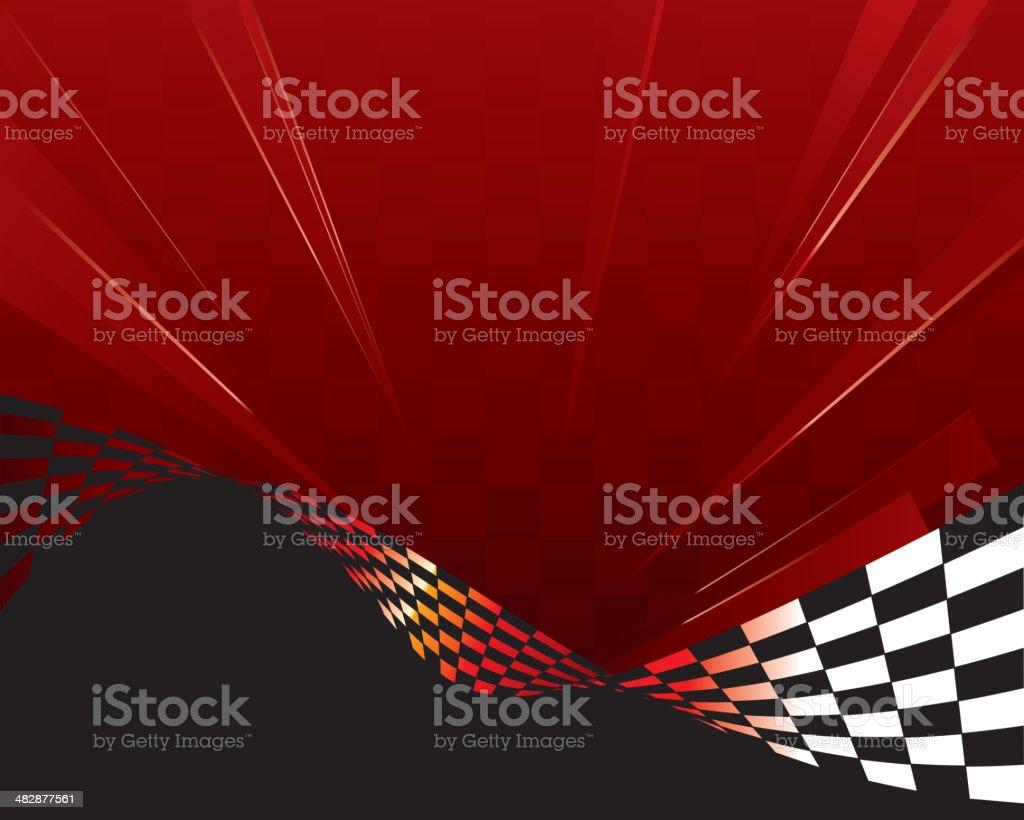 sporty background vector art illustration